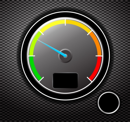 tacometro: Tac�metro ilustraci�n