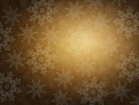 Elegant Christmas background with snowflakes and place for text. Vector
