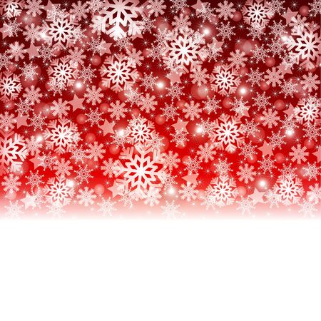 Elegant Christmas background with snowflakes and place for text  Stock Vector - 16596295