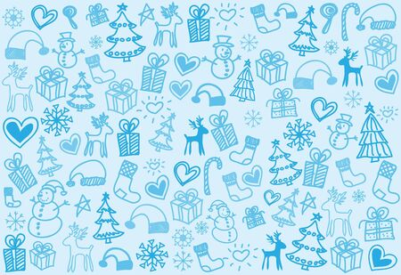 Vector textured background is lovely  Patterns for Christmas  Vector