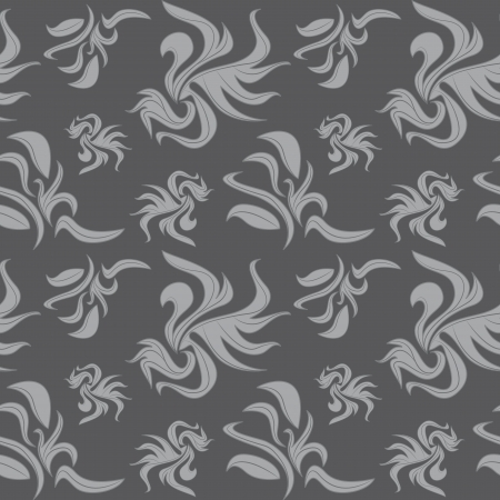 Seamless background gray abstract pattern. Vector