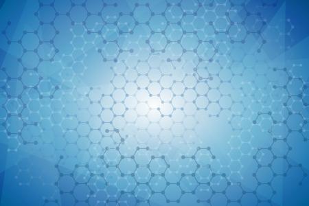 抽象的な分子医学的背景  イラスト・ベクター素材