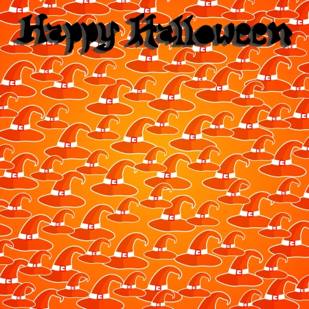 Happy halloween card design. Halloween vector illustration Vector