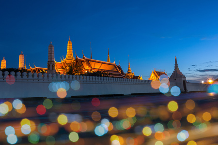 Wat Phra Kaew, Bangkok , Thailand. main temple in the Grand Palace. photo