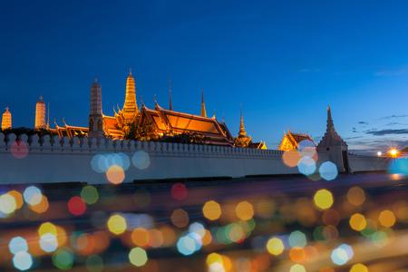 Wat Phra Kaew, Bangkok , Thailand. main temple in the Grand Palace. photo