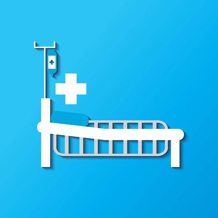 bedridden: medical bed