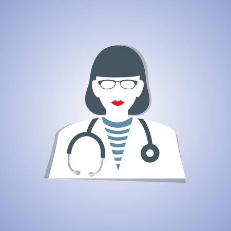Medical doctor Vektorové ilustrace