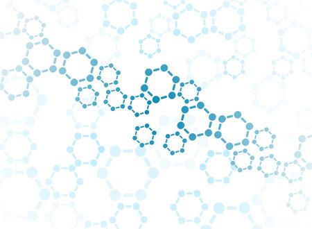 Abstrakcyjne tło medyczne cząsteczki