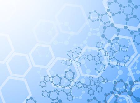 Molécules abstrait médicale