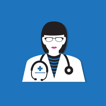 female doctor: Medical doctor