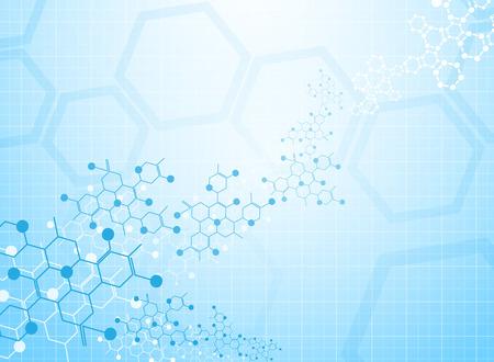Abstract background medizinische Substanz und Molekülen. Standard-Bild - 37128811