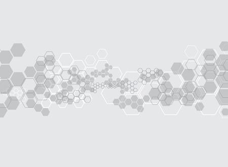 抽象的な背景医療物質や分子。