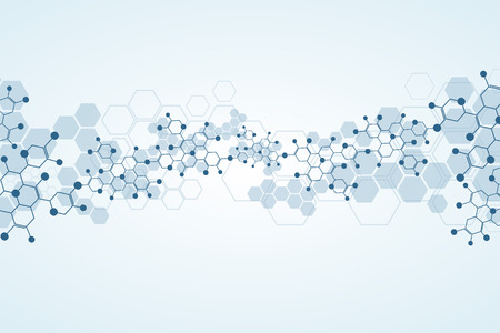 molecula: Fondo abstracto sustancia m�dica y mol�culas.
