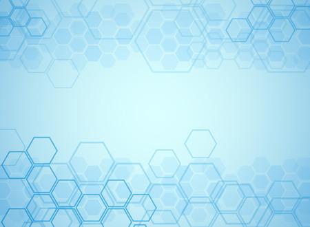 Abstrakte Moleküle medizinischen Hintergrund Standard-Bild - 39538157