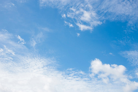 青空: Blue sky with clouds