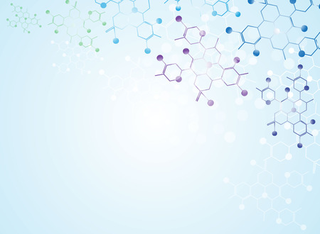 molecule background: Medical Abstract Science background Illustrations Illustration