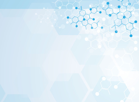 医療の抽象科学背景イラスト