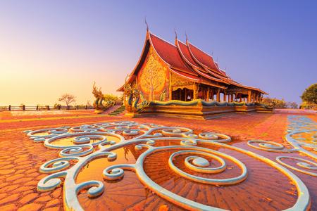 Sirindhorn Wararam Phu Prao Temple (Wat Phu Prao)in Ubon Ratchathani province, Thailand.