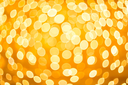 Bokeh light Vintage background. Gold Chocolate color Christmas background