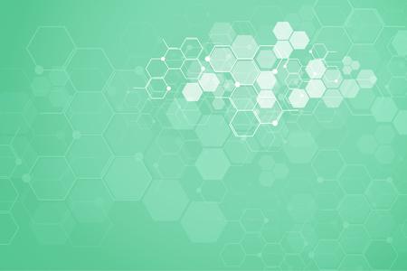 Fondo medico astratto e fondo di concetto di scienza.