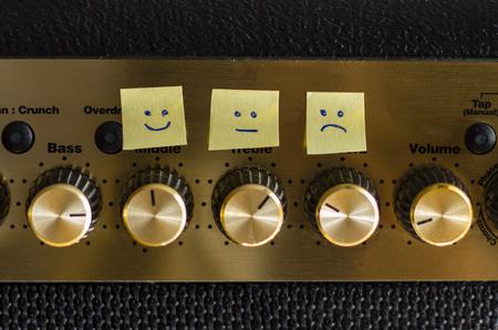 regulating: Control emotions happy sad neutral