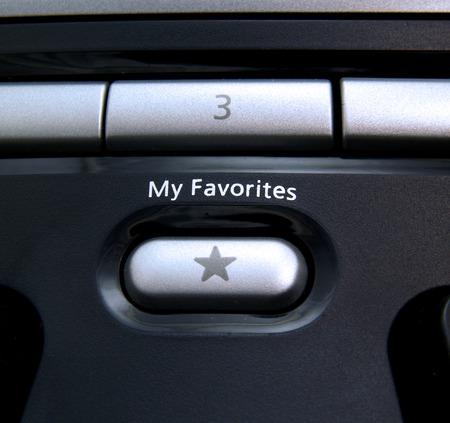 favoritos: Favoritos bot�n de teclado de computadora