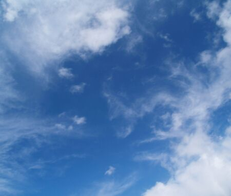 The sky with white clouds - Various angles