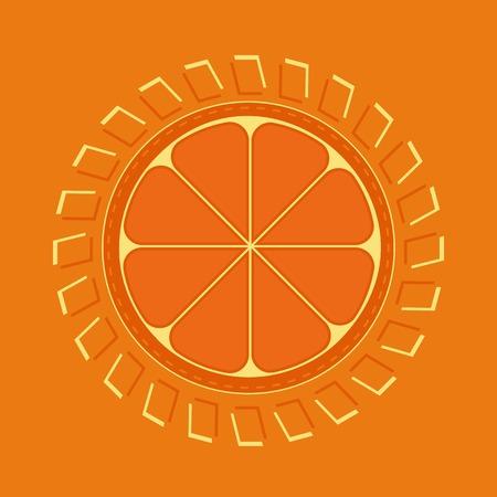 citrus fruits: Citrus Fruits. Fruit vitamin enegry Concept. Sliced orange. Orange Enegry Concept. Organic fruit  natural. Tropical citrus. Natural fruit with vitamin for juice, dessert. Vector Illustration