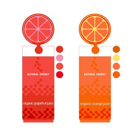 Zitrusfrüchte. Geschnittene Zitrone, Limette. Citrus Keile. Frische natürliche Saft-Konzept. Bio-Obst. Tropical Zitrus. Natürliche Frucht mit Vitamin. Zitrone, Limettensaft Tropfen. Vektor-Illustration