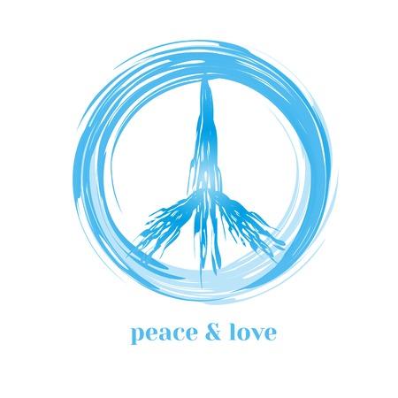 break free: Peace symbol