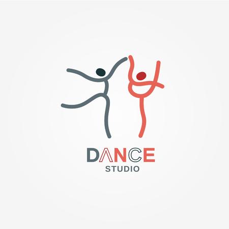 Dance icon concept.