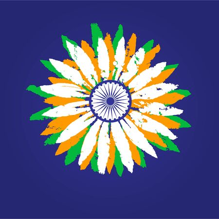 India republic celebration Illustration