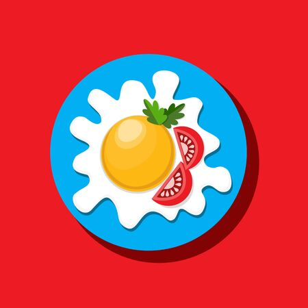 Food icon concept Illustration