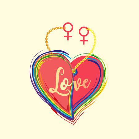 relaciones sexuales: concepto de diversidad de género. Vectores