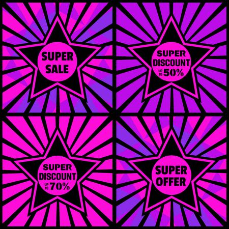 Super sale Concept