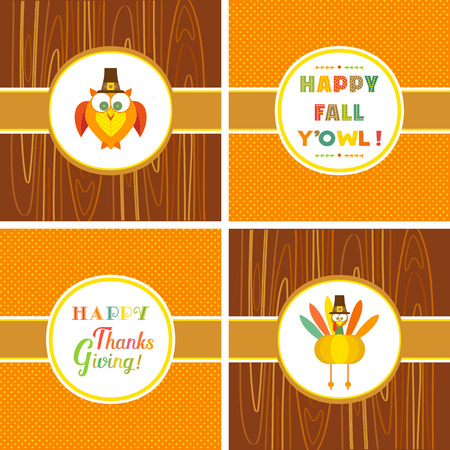 Happy thanksgiving day Illustration