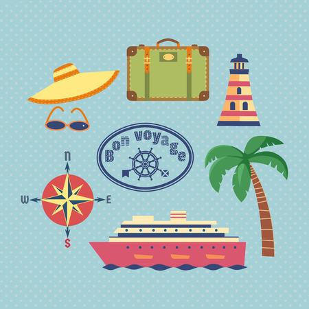 Nautical vintage poster