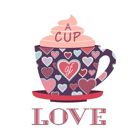 Valentines day cute printable love greeting card