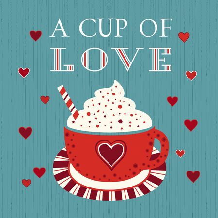 Sweetheart holiday vector design element. Valentine day funny greeting card party poster background. Love inspired cute card, printable Valentines. Romantic loved phrase graphic cartoon illustration