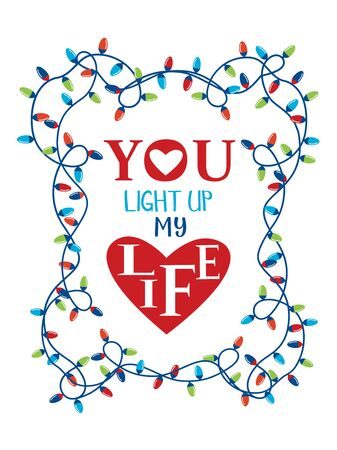 Valentine day puns funny vector greeting card