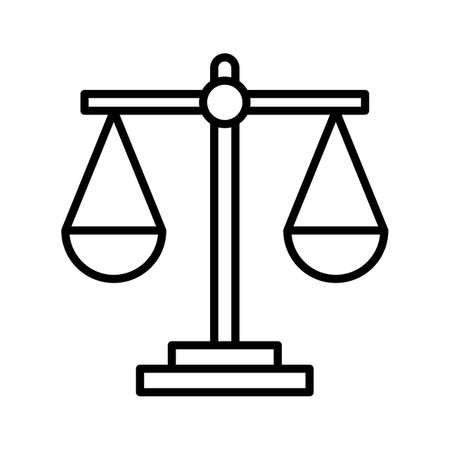 Balance, business, scale icon vector image. Can also be used for business & office. Suitable for use on web apps, mobile apps and print media.
