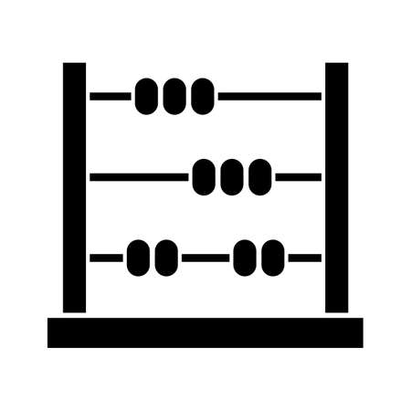 Abacus, calculate, maths icon vector image. Can also be used for education. Suitable for use on web apps, mobile apps and print media.