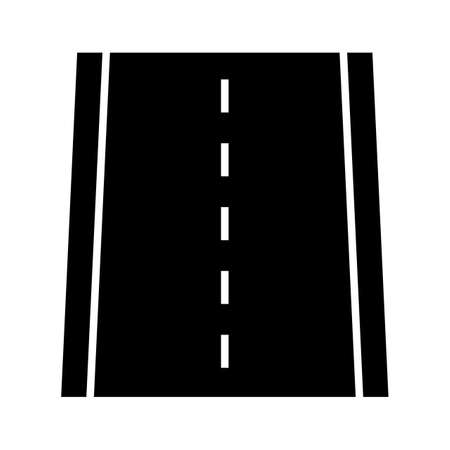Road, route, way icon vector image. Can also be used for Navigation. Suitable for use on web apps, mobile apps and print media.