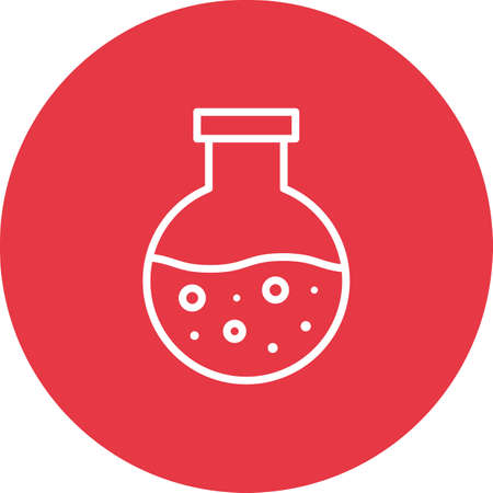 Flask, chemist, lab icon vector image. Can also be used for education. Suitable for use on web apps, mobile apps and print media.