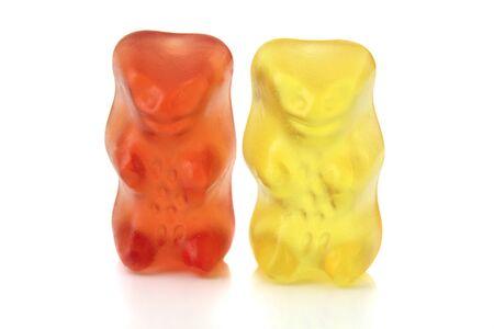 exempted: Gummi bears isolated