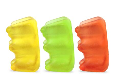 gummi: Gummi bears isolated