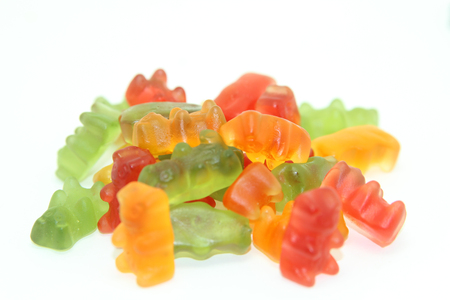 deduction: Gummi bears isolated