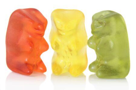 gummi: Gummi bears isolated meeting