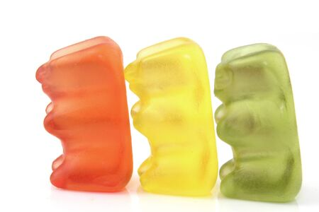 exempted: Gummi bears isolated