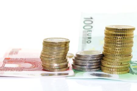 banconote euro: Banconote e monete in euro